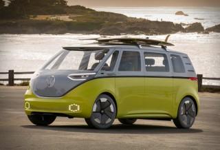 Kombi elétrica Buzz ID da Volkswagen