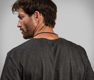 Camiseta Exclusiva Feita com Polpa de Madeira - Vollebak Black Algae T-Shirt - Imagem - 4