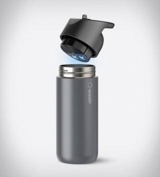 Garrafa Inovadora que Filtra e Esteriliza - WAATR BOTTLE - Imagem - 5