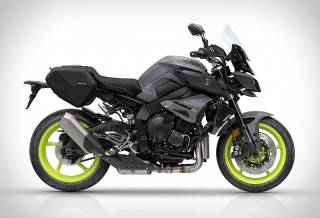 Moto Yamaha MT-10 Tourer Edition