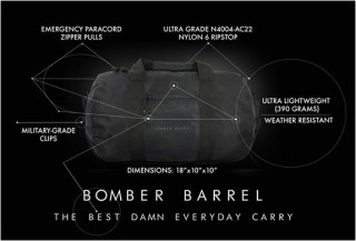 SACO BARRIL - BOMBER TAMBOR BAG - Imagem - 7
