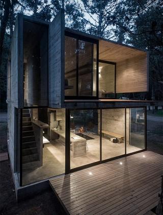 Arquitetura - Casa H3 - Estrutura de Concreto - Imagem - 9