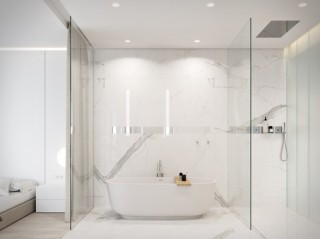 Arquitetura - Apartamento Minimalista Bachelor - Imagem - 9