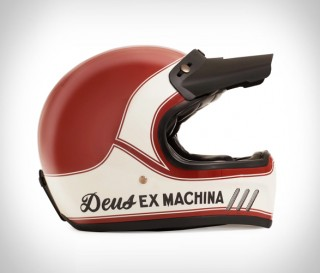 Capacetes Deus Django Vintage MX Helmet - Imagem - 10