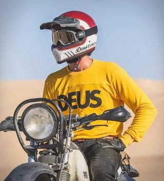 Capacetes Deus Django Vintage MX Helmet - Imagem - 11