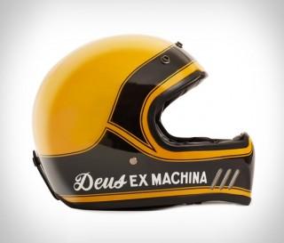 Capacetes Deus Django Vintage MX Helmet - Imagem - 6