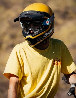 Capacetes Deus Django Vintage MX Helmet - Imagem - 9