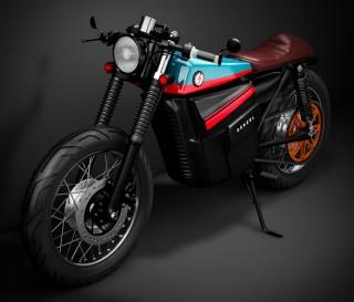 Moto HONDA ELECTRIC CAFE RACER - Imagem - 11