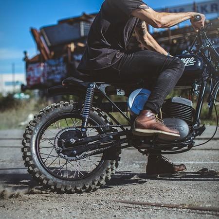 Moto Husqvarna 256 Thage - Imagem - 7
